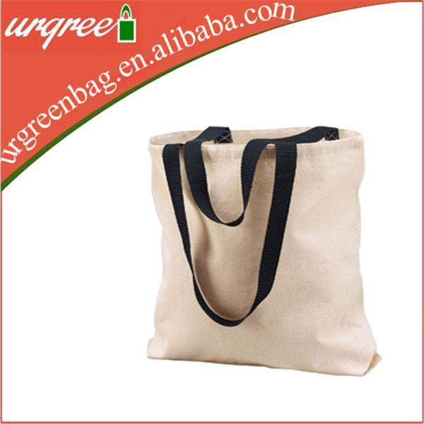 100 Natural White Cotton Tote Food Bag For Shopping