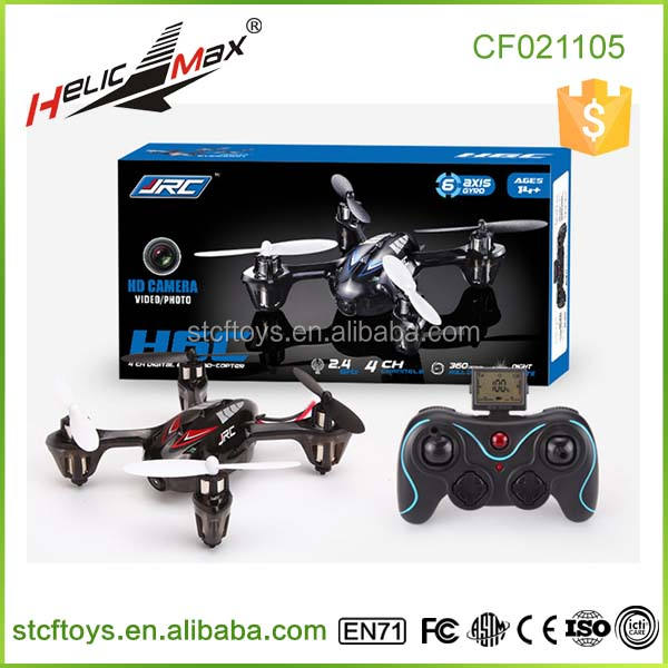 Jjrc H6C 4CH 6-Axis 360 Eversion RC Quadcopter Mini Flycam Drone dengan 2.0MP Kamera
