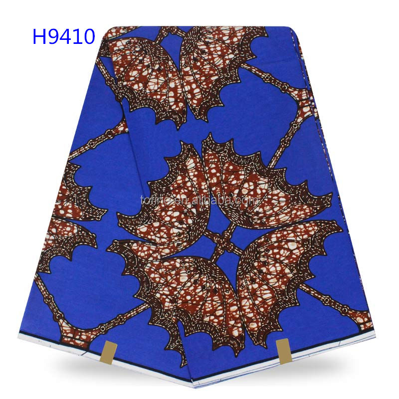 Factory price wax holland wedding print fabric african for women