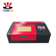 mini lazer engraver, small mini co2 40W laser rubber stamp engraving machine 3020