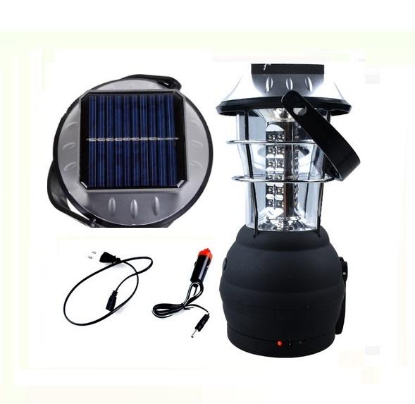 LED Portable Emergency Lantern Outdoor Tent Solar Camping Lantern
