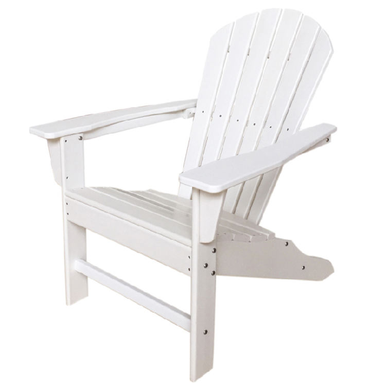 Outdoor All Weather Recycled Classic HDPE Plastic Adirondack Chair