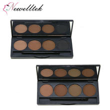 1 cream 3 powder brow private label makeup kit long lasting eyebrow enhancer waterproof eyebrow powder