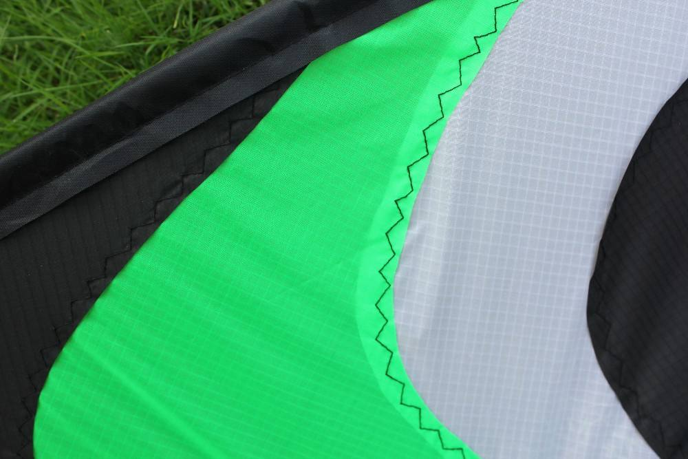 Wholesale 1.8m nylon dual line stunt kite from weifang kite factory