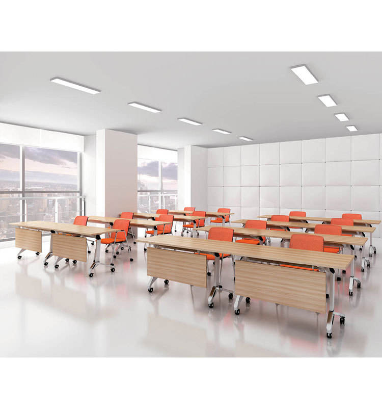 plastic school chair with writing board tablet arm ergonomic student study combo folding school computer desk and chair set