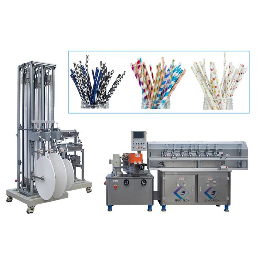 Popular widely used high speed automatic paper drinking straw making machine