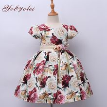 Wholesale Summer China Design A Line Girl Party Gown Dress For Girl On Sale