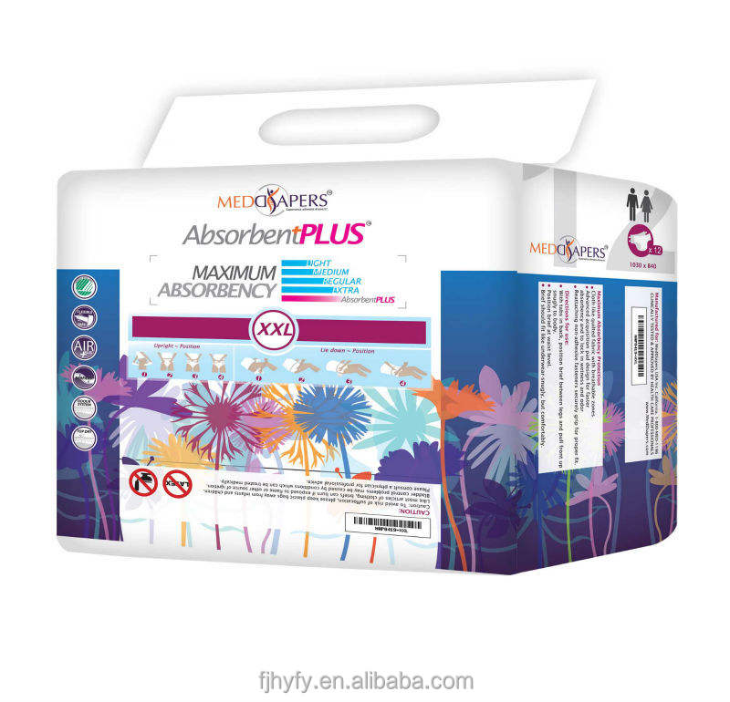 OEM Disposable Adult Diaper with Baby