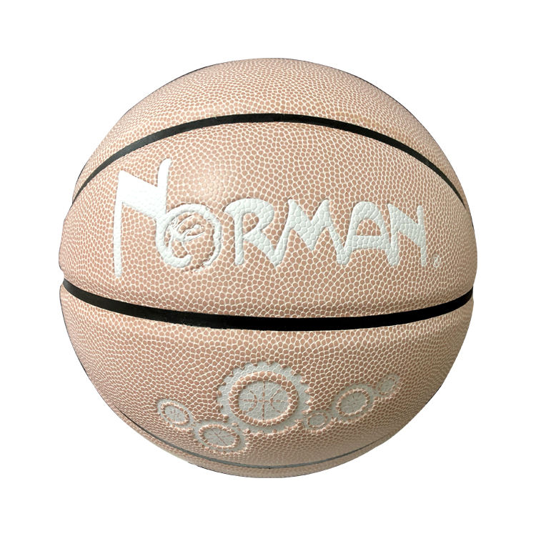 Basketball Training Custom Good Quality Size 6 Ball Type Leather Basketball Training