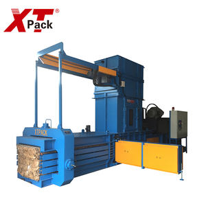 China supplier wheat straw baler full automatic horizontal baler press