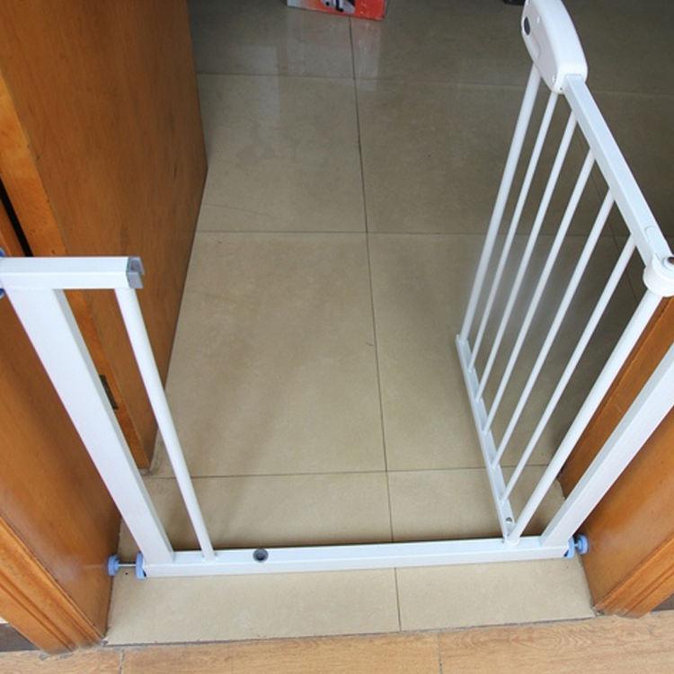 Puerta de seguridad para beb/és Protecci/ón para ni/ños Esgrima Guardia de puerta Malla plegable Puerta para mascotas Guardia de seguridad para mascotas Cerca port/átil para mascotas Escaleras