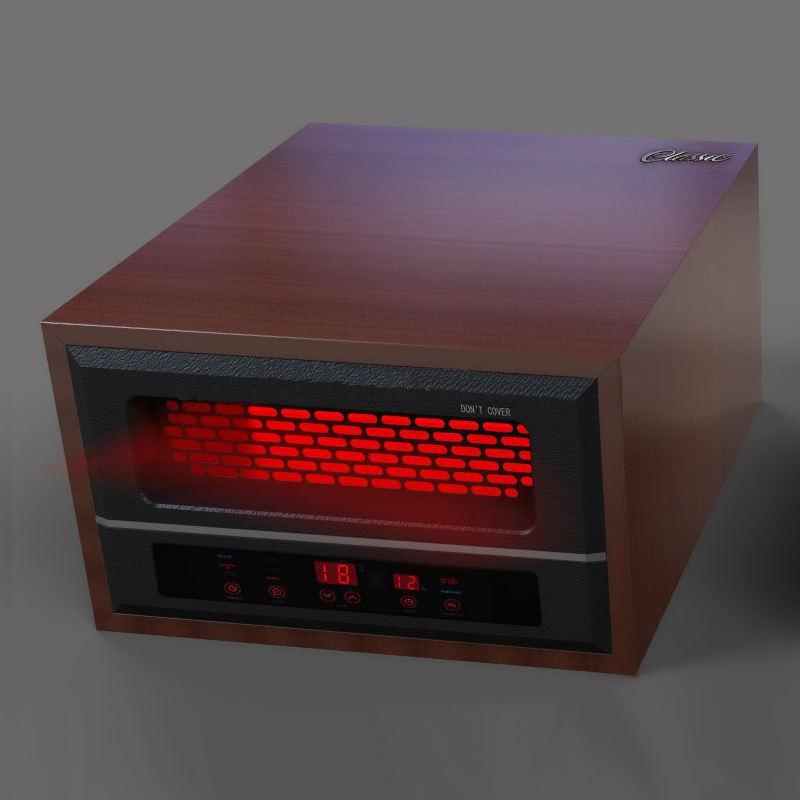 Casa de madeira Fan Forçado aquecedor portátil