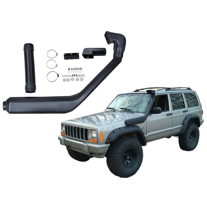 Snorkel Kit For 1985-01 Jeep Cherokee XJ Liberty Air Intake System Rolling Head