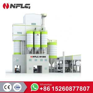 Ready Mix Station Type Dry Mortar Plant With 40-60t/h