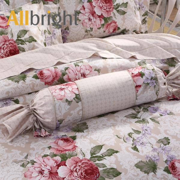 Woven [ Comforter Sets ] ALLBRIGHT Classical Style Home Textile Cotton Percale Fabric Super King Bedding Comforter Sets