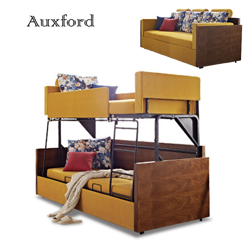 New Designs for Children Students Staffs Sofa Bunk Bed Foldable Bed