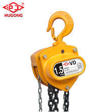 Specifications Of Chain Block 1.5 ton CD-C Manual Hoist Lifting Block