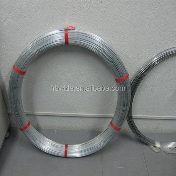 18 gauge 25kg/roll galvanized binding wire