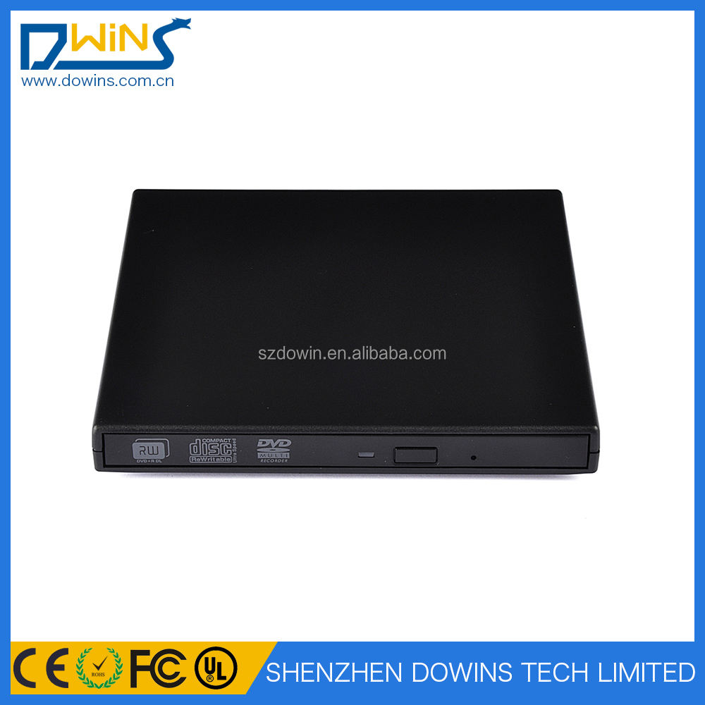 Externo USB 2.0 Slim DVD CD R/Rw Burner Escritor para DELL Inspiron Mini 9