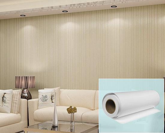 Fil De rayure De Papier Peint Non-Tissé Tissu de Toile Pour La Décoration De La Maison