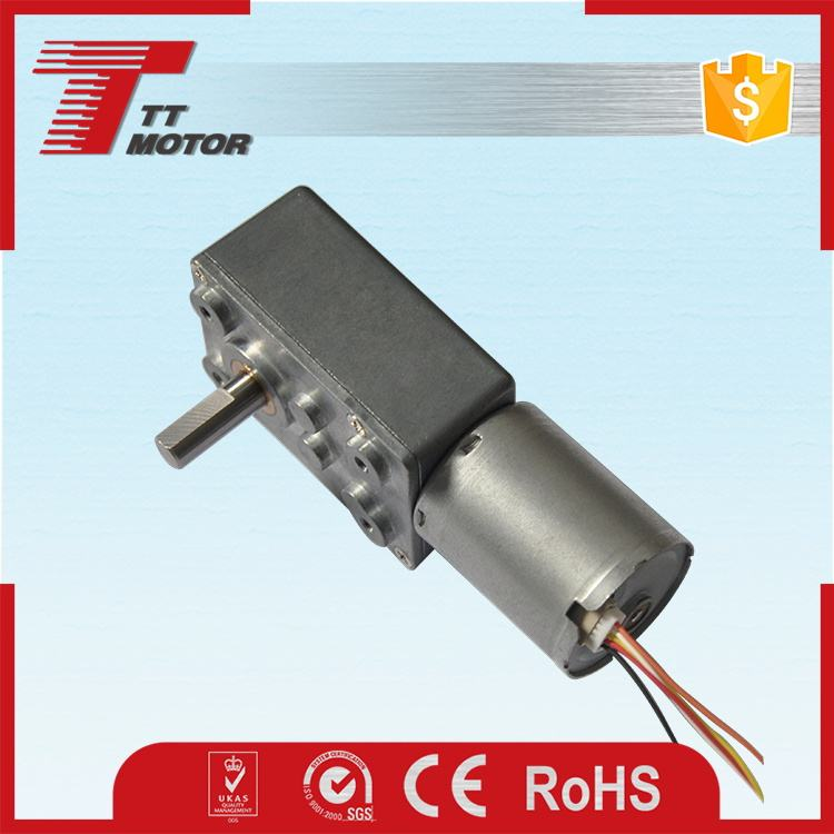 Aviation models worm brushless mini worm gear dc motor 48v 500w