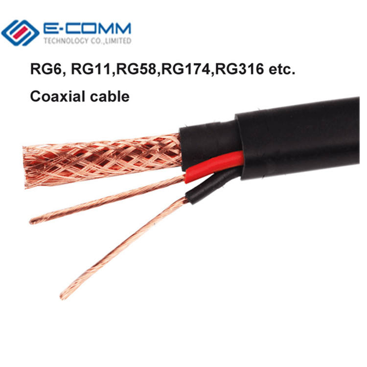 OEM factory china rg9 rg6 coaxial cable price coaxial rj6 cable
