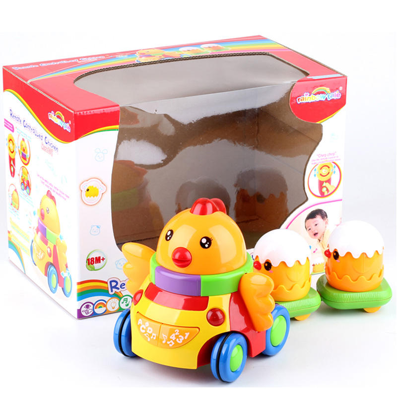 Wholesale remote control plastic chicken toy for children