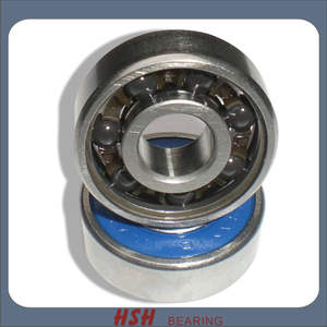 Spin 5 minutes 20 seconds Ceramic ball hybrid ceramic skate bearing