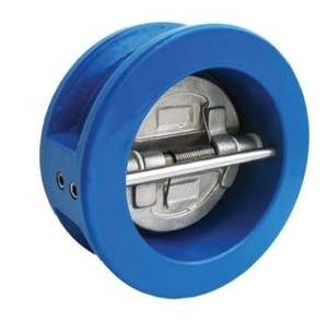 china factory ductile iron body ss304 disc wafer dual plate pilot 15mm mini check valve price