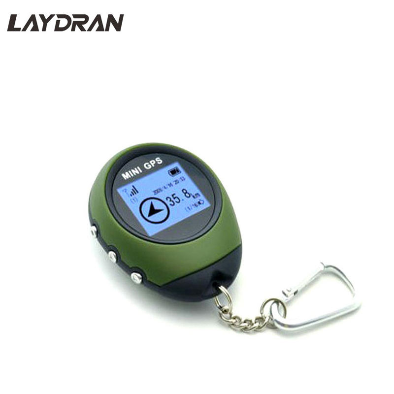 Portable Mini Hand-held keychain GPS Locator mini GPS tracker without sim card Location finder keychain for Outdoor Sport/Travel