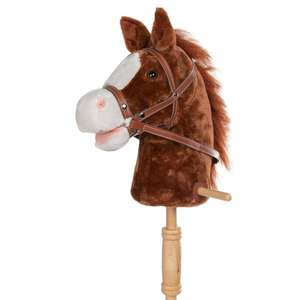 Personalizzato Multi-colored Bastone Peluche Pony Cavallo