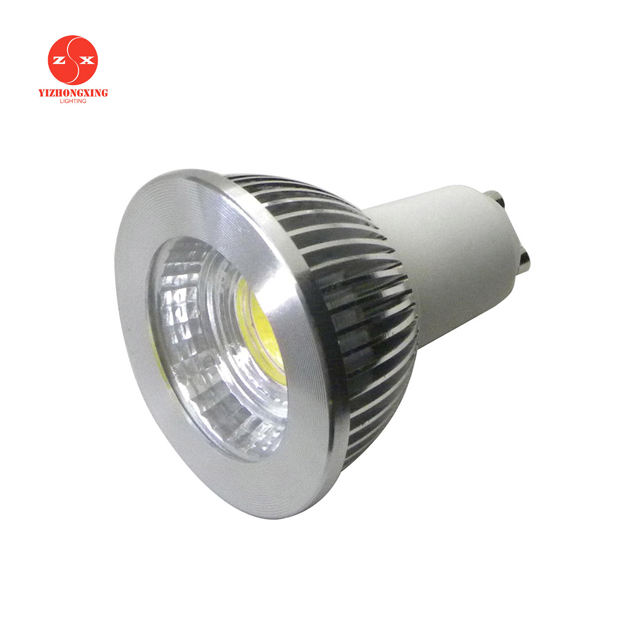 Factory price gu 10 led 디 밍/bulb led gu10 61mm/led cob gu10