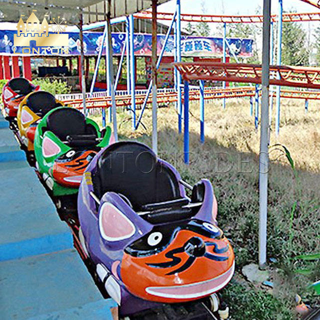 New Cheap And Attractive Amusement Park Toys Roller Coaster Crazy Mouse Funfair Rides On Sale