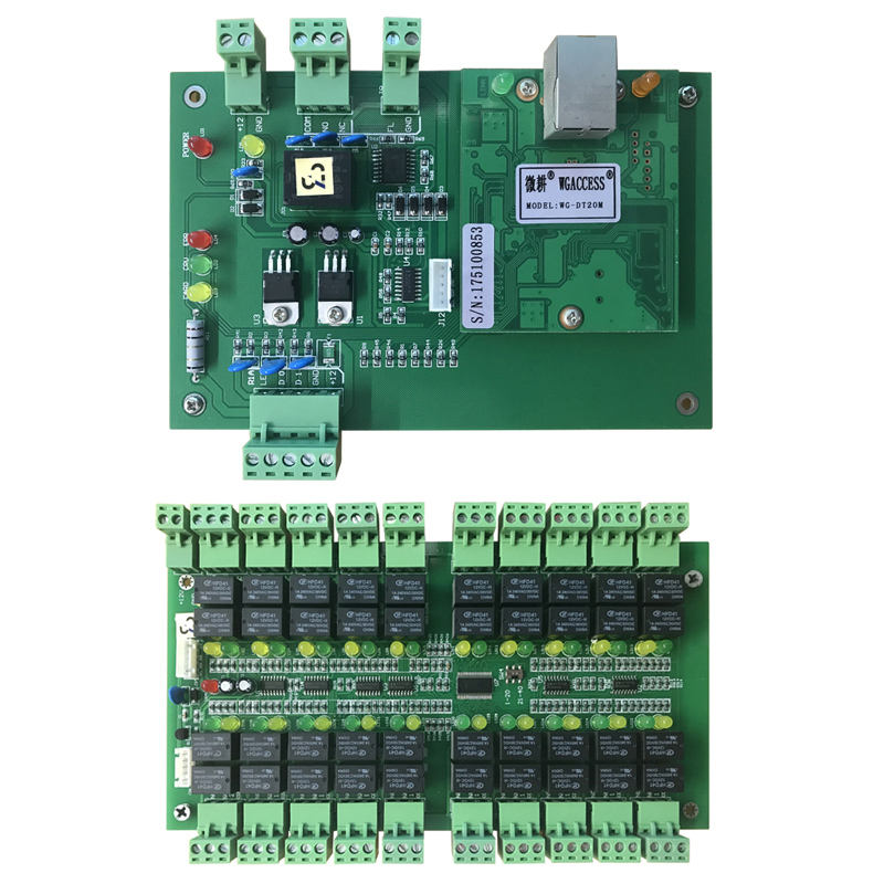 S4A DT20 Multi Door Access Control Unit & DT20K Extend Function Board