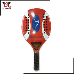 Hot selling outdoor sportartikelen professionele Carbon beach tennis racket paddle china leveranciers