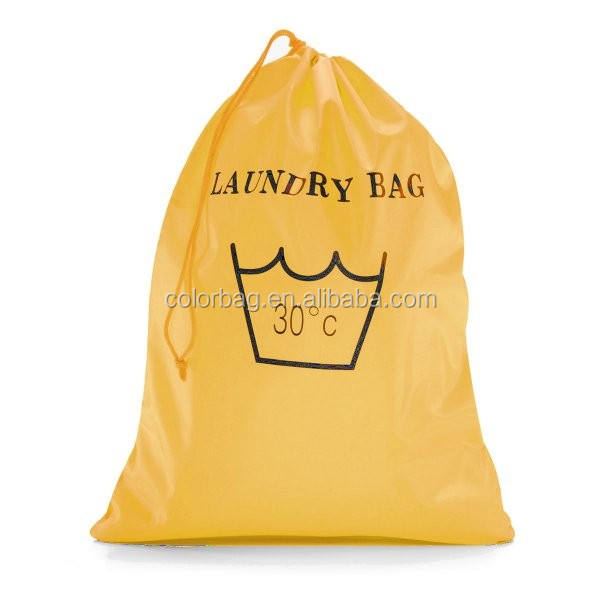 wholesale nylon drawstring big hospital laundry bag