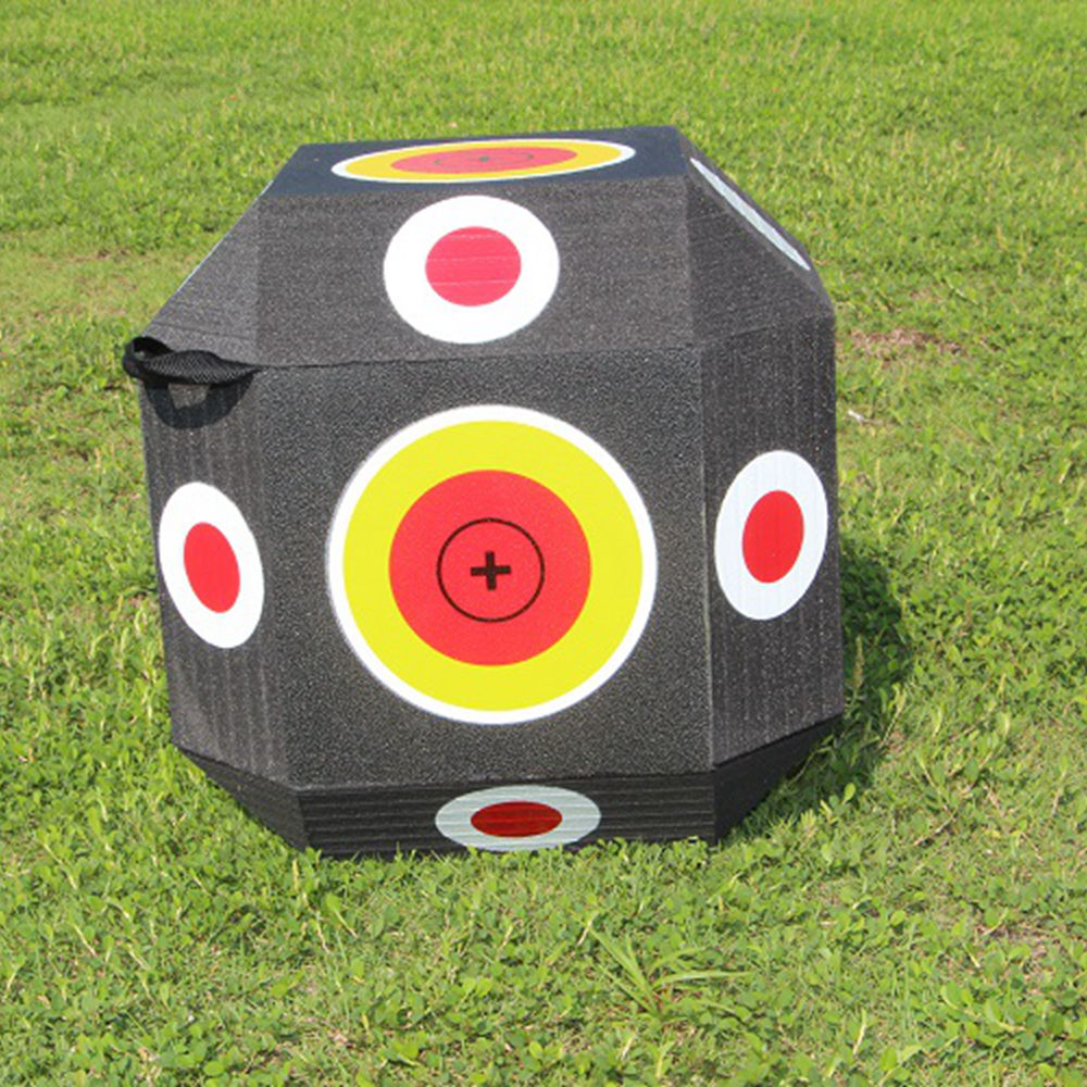 Supply 3D Cube High Density Foam Polyhedral Shooting Target Different Type XPE&EVA Foam Archery Target
