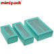 Turquoise Macaron Gift Packaging Teal Drawer Cardboard Boxes With Clear Window For Displaying, Dessert