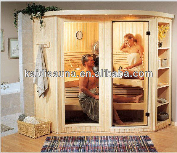 2015 hot sale China supplier 6 person portable Finnish steam sauna