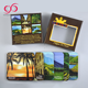 China manufacture cork coaster set 6 for tourist souvenirs NON-SLIP hot pad set