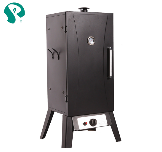 Multifunctional cast iron gas bbq smoker with low price