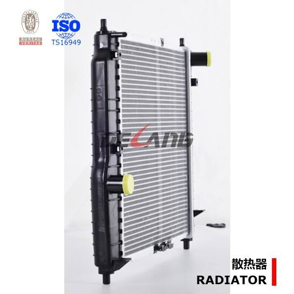 Auto engine cooling radiator pa66 gf30 Shanghai OEM manufacturer for CHEVROLET KLAOS 2002- OE No# 96536523 (DL-B110)