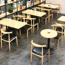 China coffee shop furniture Cafe tables and chairs FOHBCA27