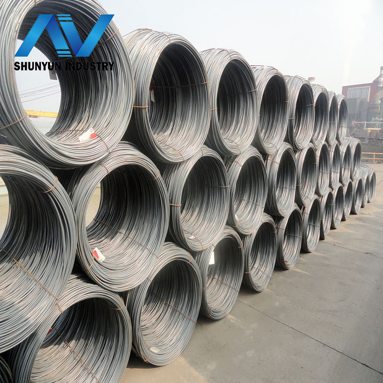 Q195 Grade wire rod mild steel for making wire nails