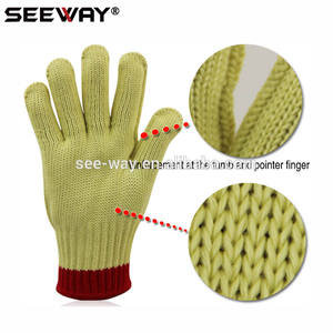 Seeway Aramid Cut Resistant Gloves Hand Jobs Gloves
