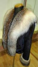 Mink Jacket with Fox collar. Excellent quality top design