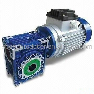 Worm gearmotor gearbox hollow shaft NMRV series drive for drum winch