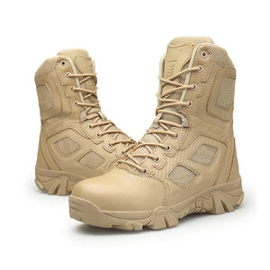 Latest Men's Army Training Tactical Desert Military Boots For Army