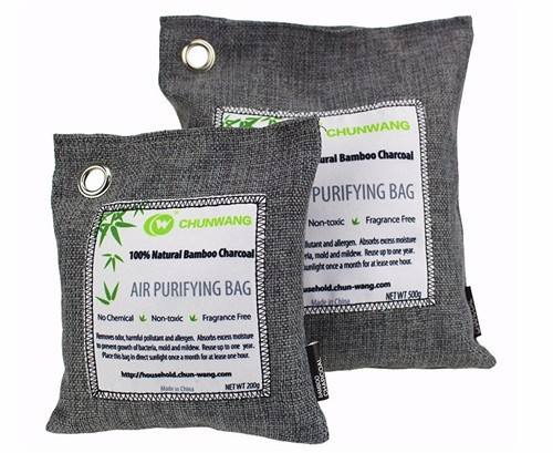 200g Activated Bamboo Charcoal Natural Car Air Freshener/Purifying Bags In Bulk