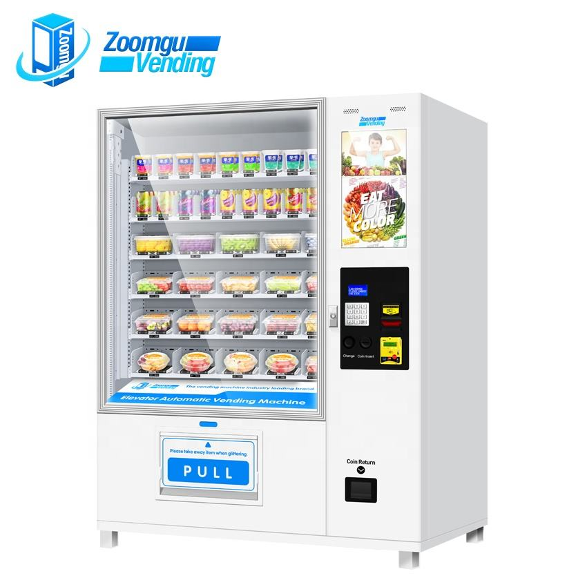 Touch screen zelf smart instant noodle automaat business
